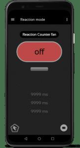 Startbildschirm Reaction mode